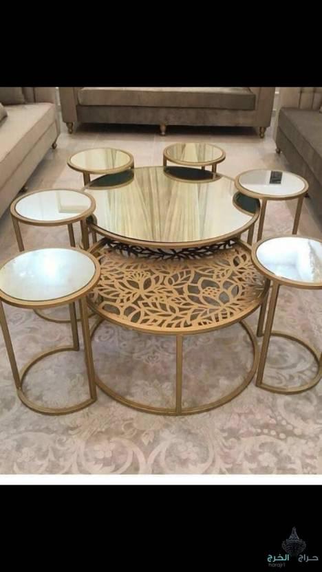 تفصيل طاولات حديد وخشب ع حسب طلب الزبون