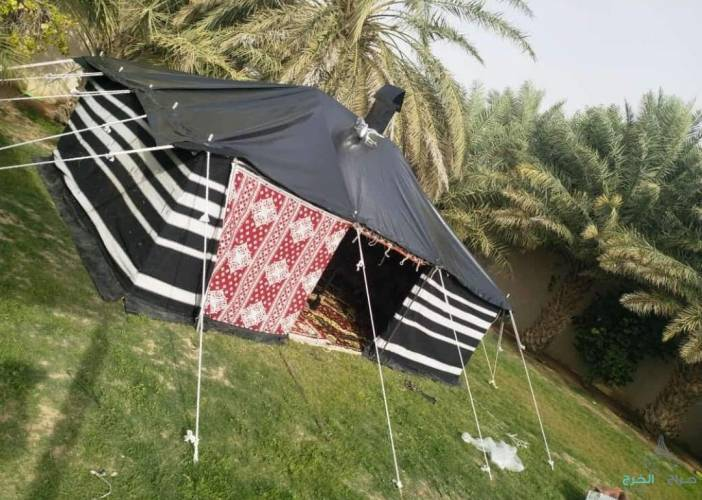 بيوت شعر تجهيز مخيمات
