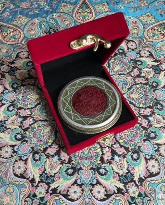 زعفران ايراني بنص السعر