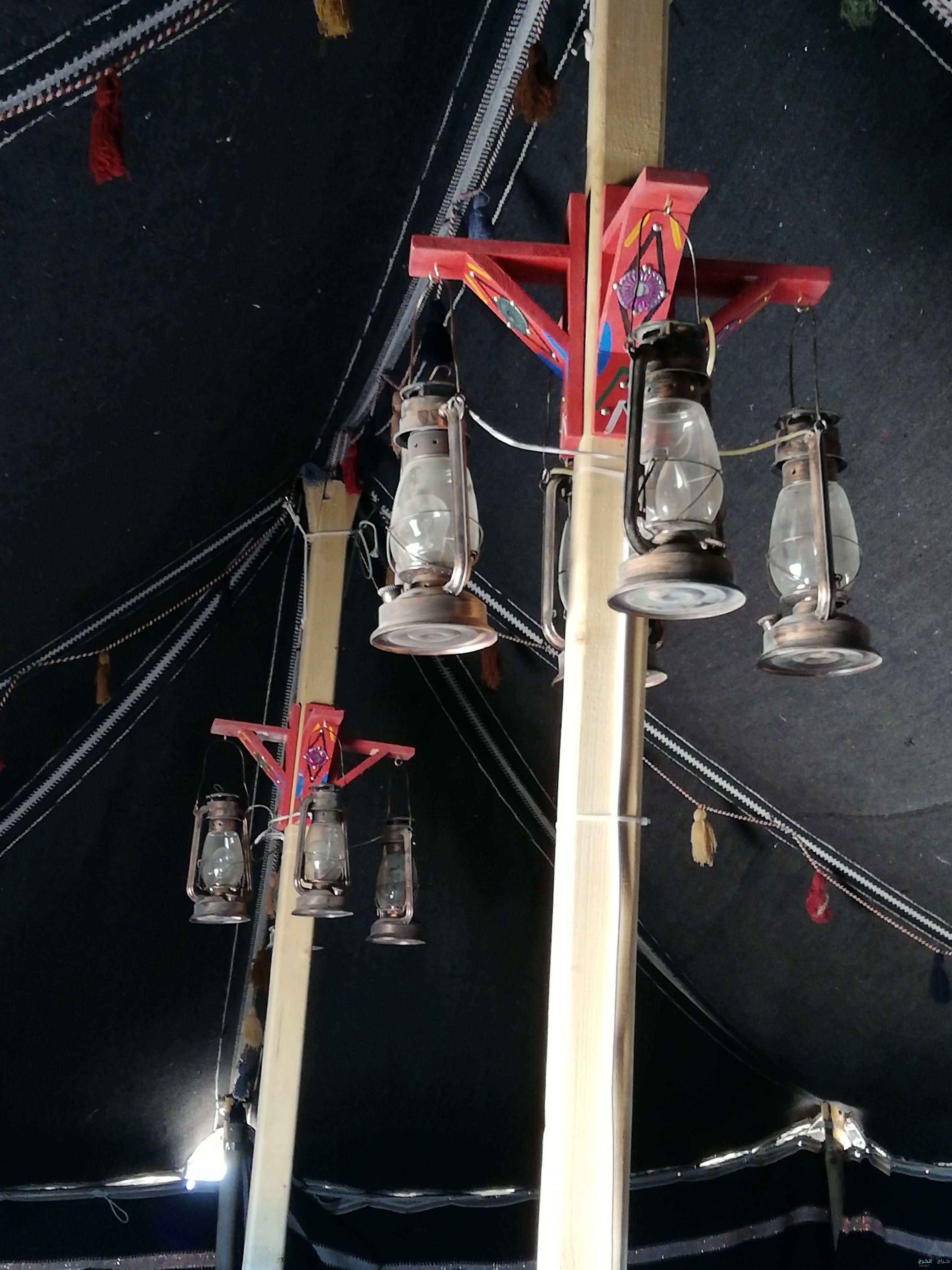 كهربائي مخيمات