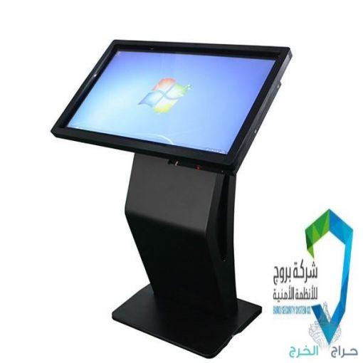 شاشات خدمة ذاتية تفاعلية العامودية تعمل بلمس