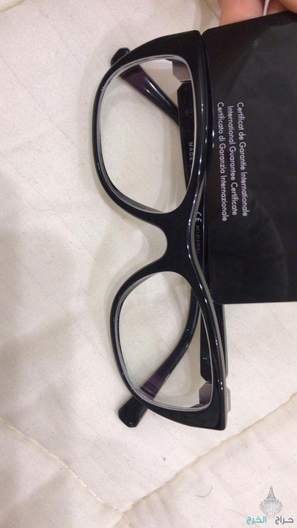 نظارة شانيل اصلية مع كامل الملحقات