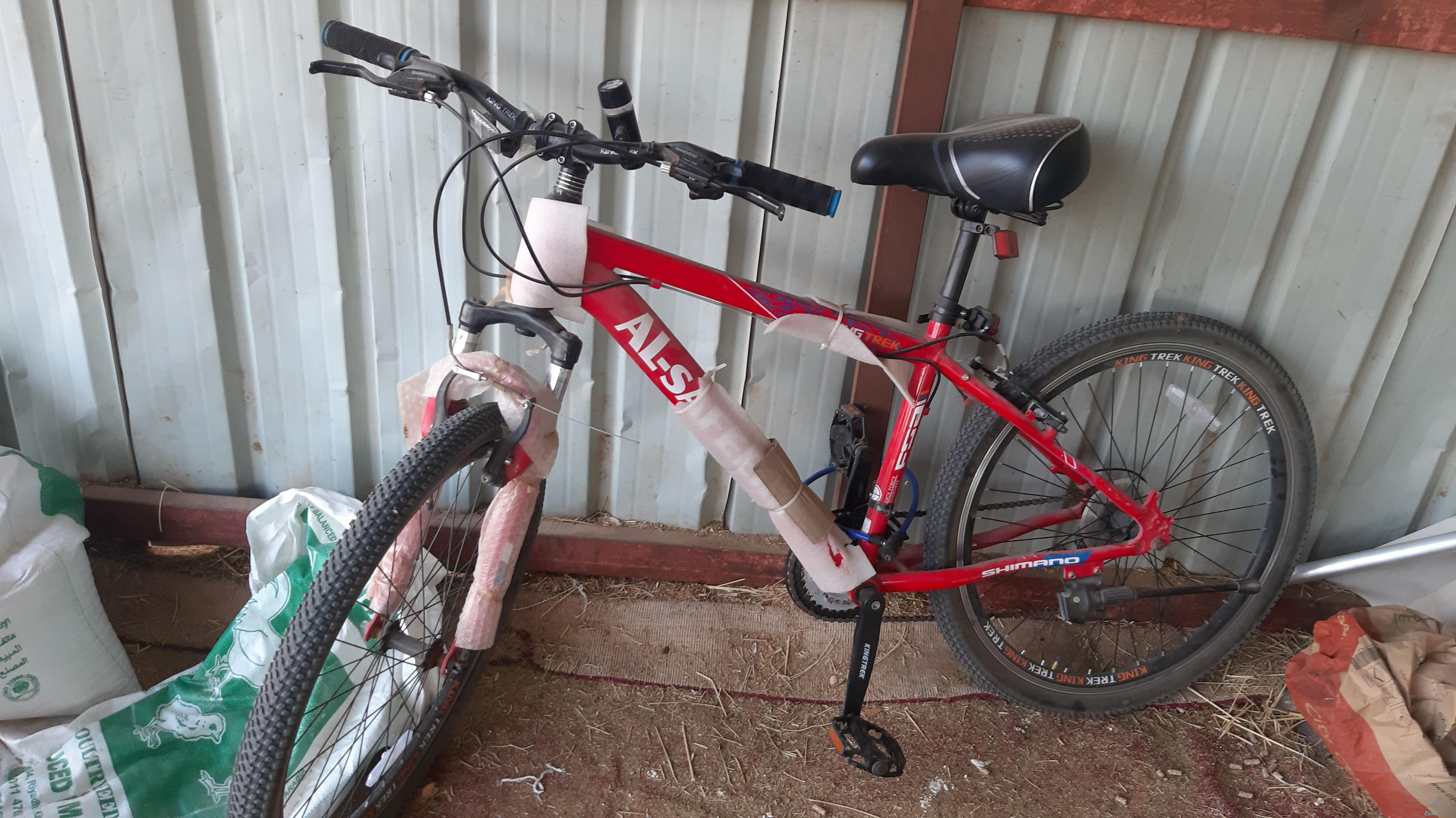 دراجه هوائيه 26 شبه جديد