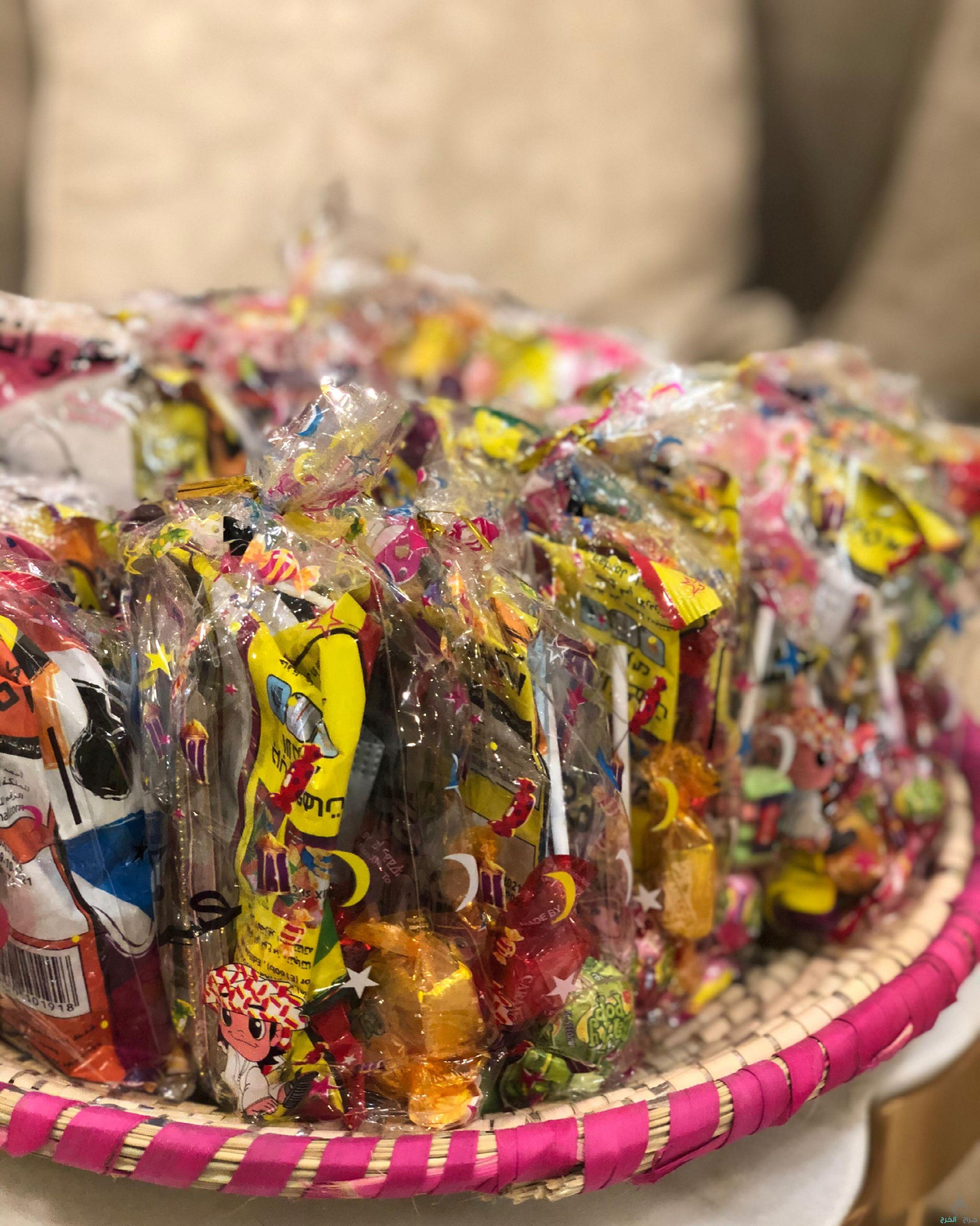 توزيعات للعيد والمناسبات والحفلات