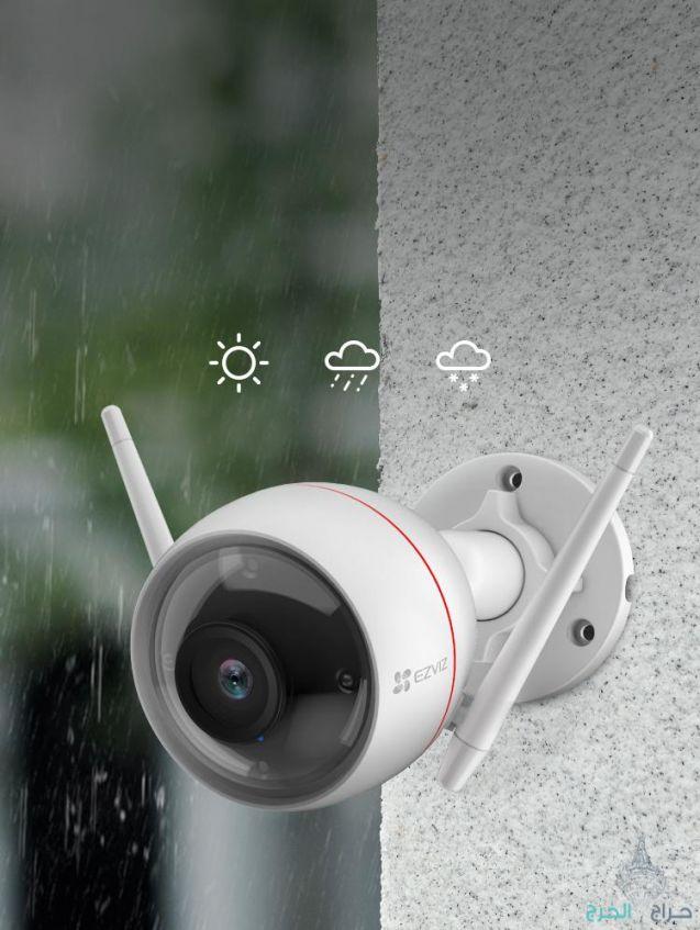 كاميرات مراقبة لاسلكية داخلية وخارجيه واي فاي