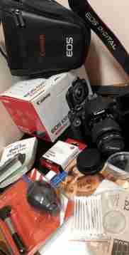 كاميرا كانون D650 للبيع