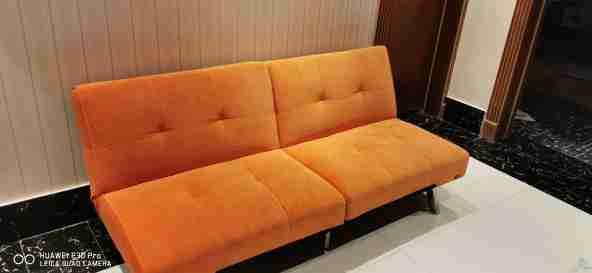 اريكة تتحول سرير جوده عاليه