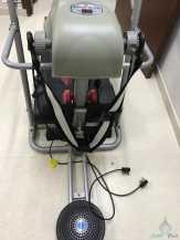 Health care جهاز سير كهربائي مع أثقال وقرص دوار وجهاز مساچ