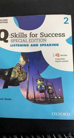 كتاب مهارات الاستماع والتحدث كتب ج سطام تحضيري هندسي --محلوول اغلبه والحلول صحيحه والكود لم يستخدم مسبقاً