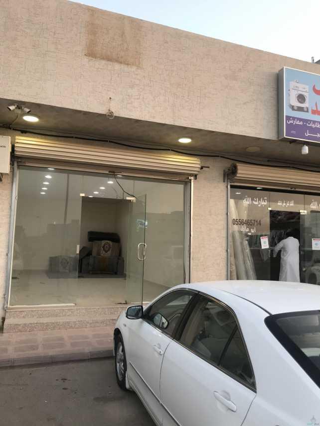 محل للايجار بجانب مندي الخرج حي مشرف