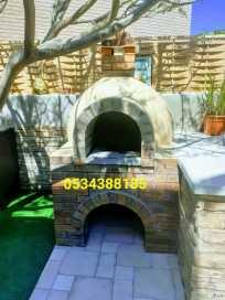 فرن بيتزا, فرن الخبز , فرن الخبز, بناء فرن بيتزا, فرن معجنات طوب, 0534388185