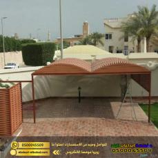 تركيب مظلات سيارات في الرياض من ابداعات البلد 0500045509