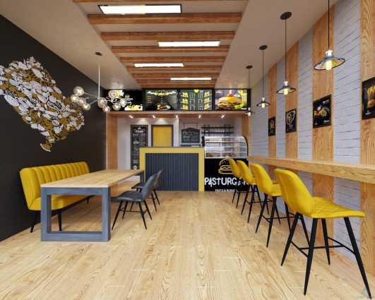 تصميم تنفيذ ديكورات المطاعم والكافيهات والمحلات التجارية