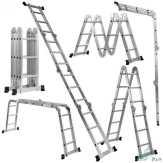 سلم متعدد الاستخدامات 6 و 5 و 4 متر
