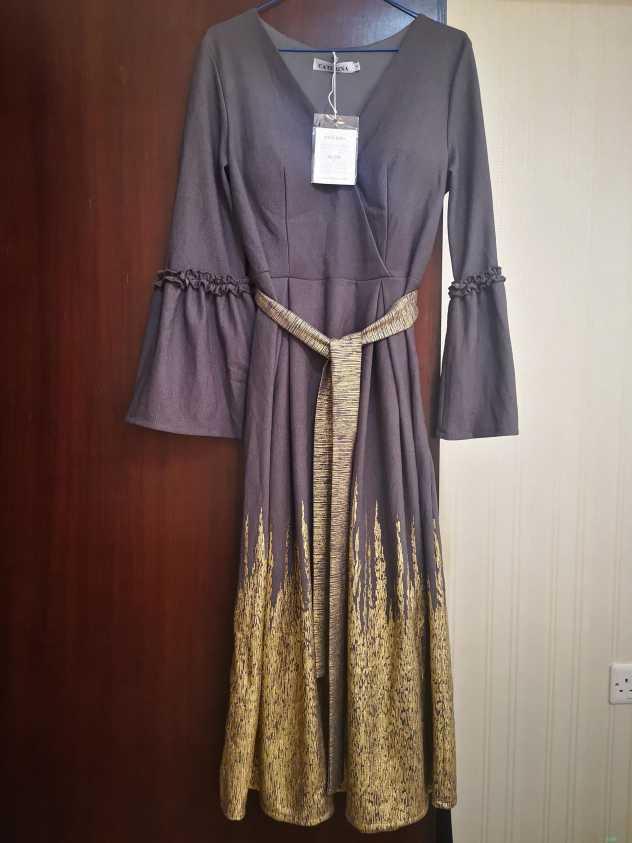فستان ميدي جديد للبيع مقاسات منوعة
